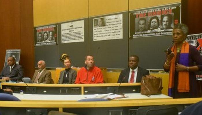 Panel on Black Vote