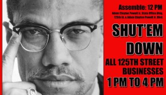 Celebrate and Honor Brother Malcolm X