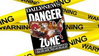 Danger Zone! Travel Alert to U.S.