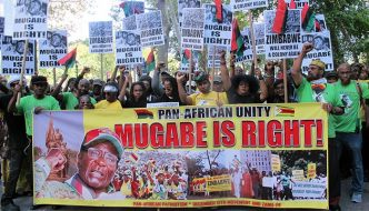 Pan-Africanists: Fight U.S. Sanctions on Zimbabwe! 8am!
