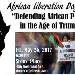 African Liberation Day 2017!