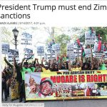 Amsterdam News: President Trump must end Zimbabwe sanctions