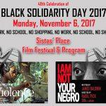 Black Solidarity 2017 Film Festival & Program