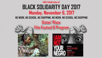 Black Solidarity Day 2017 at Sistas' Place