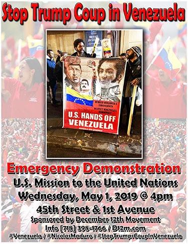 U.S. Hands Off Venezuela