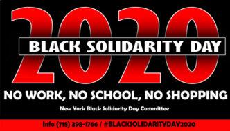 Black Solidarity Day 2020