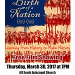 The Birth of a Nation – Free Film Showing, March 30th.
