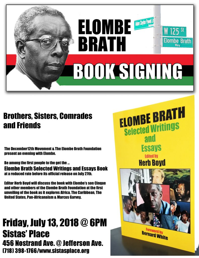Elombe Brath Book Party