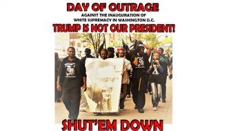 Day Of Outrage – Shut 'Em Down! Trump Inauguration Day 2017