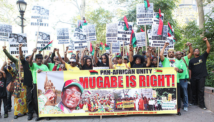 For the past sixteen years the United States has imposed severe economic sanctions on the people of Zimbabwe. A major march and rally on Sat., Sept. 16, 2017, in support of Zimbabwe will be led by the December 12th Movement International Secretariat.