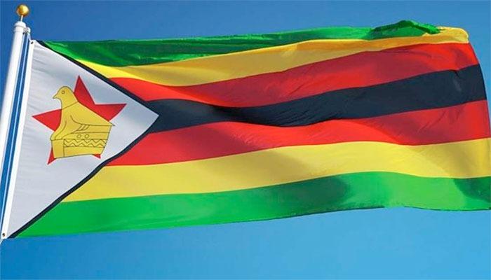Zimbabwe's Flag Flying Proudly