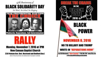 Black Solidarity -- Vote Reparations