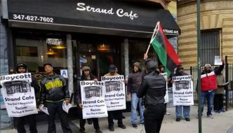 Boycott the Strand Cafe -- Shut It Down!