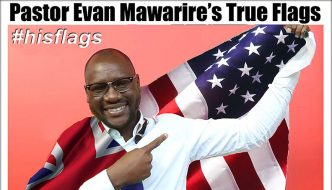 Pastor Evan Mawarire's True Flags: America & Great Britain
