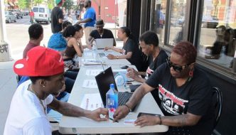 Campaign for the Black Vote voter registration drive